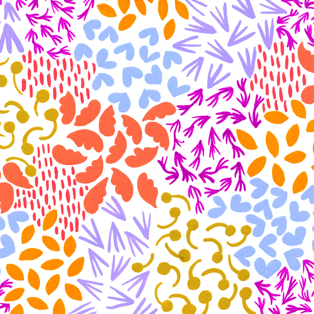 Delaware Painted Patterns Anika Starmer